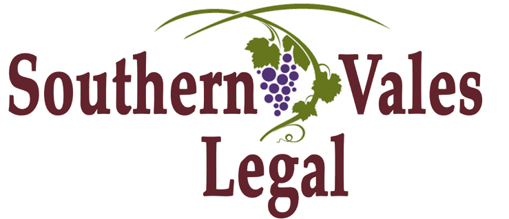 Southern Vales Legal Logo
